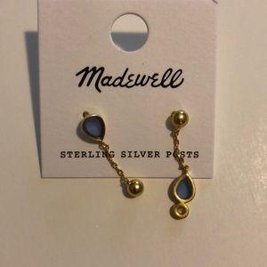 Madewell bien fait drop earrings